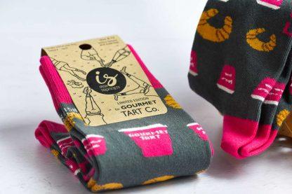 Limited Edition Gourmet Tart Socks from Irish Socksciety