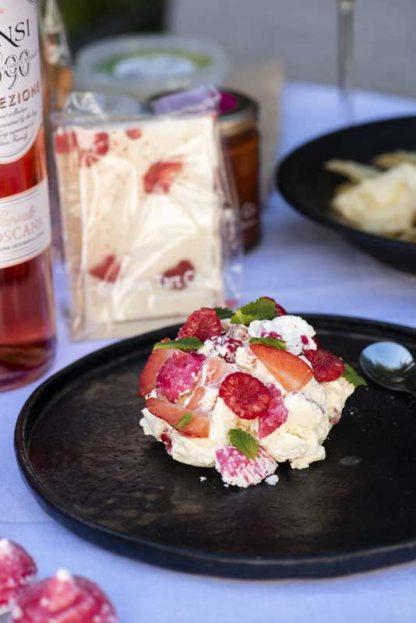 Gourmet Tart Raspberry Meringue Eton Mess