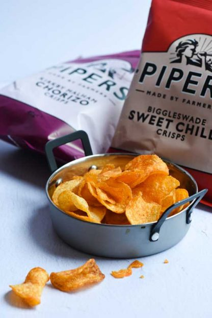 Pipers Crisps - part of Gourmet Tart hamper
