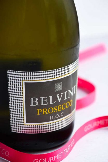 Bottle of Belvini Prosecco in Gourmet Tart Hamper