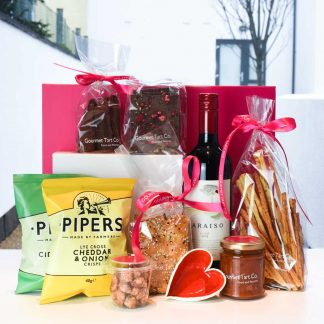 Wine Lover's Treat - Gourmet Valentine's Hamper